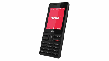 Jio Phone (Black) SD