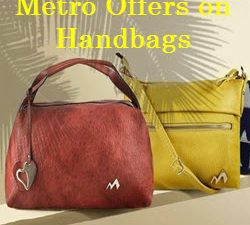 metro offers on handbags