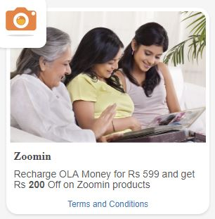 ola money recharge offers