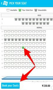 2 Bookmyshow Movie Date Select
