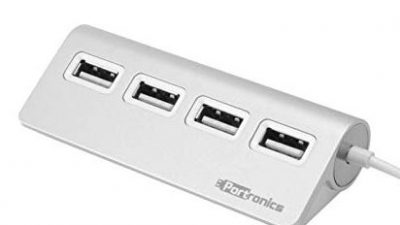 portronics usb multimedia hub