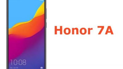 Honor 7A specifications