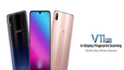 Vivo V11 Pro features