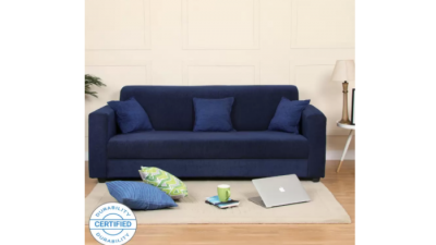 Bergen Fabric 3 Seater Sofa